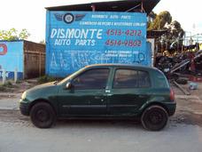 Clio 1.0 16v Sucata Motor Cambio Porta Capo Suspensão