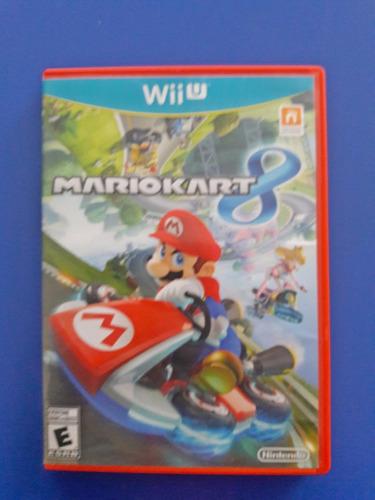 Juego Nintendo Wii U Mario Kart  Fisico Original