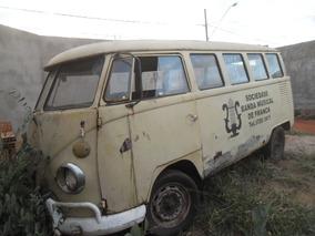 Kombi Antiga P/ Restaurar Com Motor E Documento - Barato