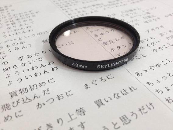 Filtro Skylight 49mm 1a