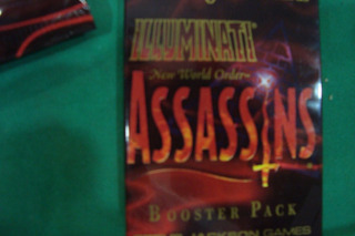 Card Games Booster Illuminati Steve Jackson Assassins