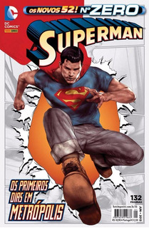 Hq - Superman - Os Novos 52! - Nº Zero