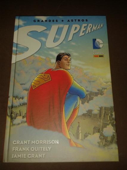 Hq Superman Grandes Astros Panini Capa Dura Ed. Definitiva