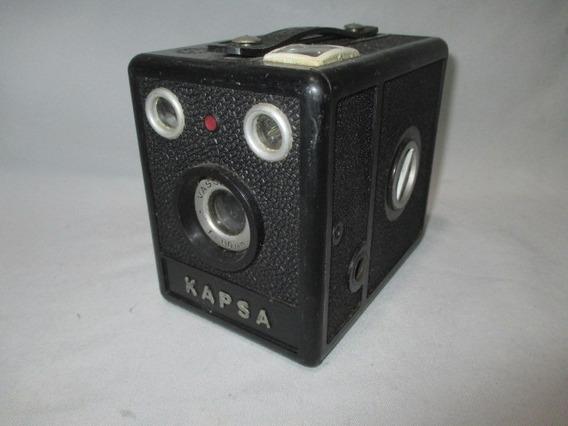 Antiga Camera Fotografica Kapsa Vascromat F=110mm Anos 70