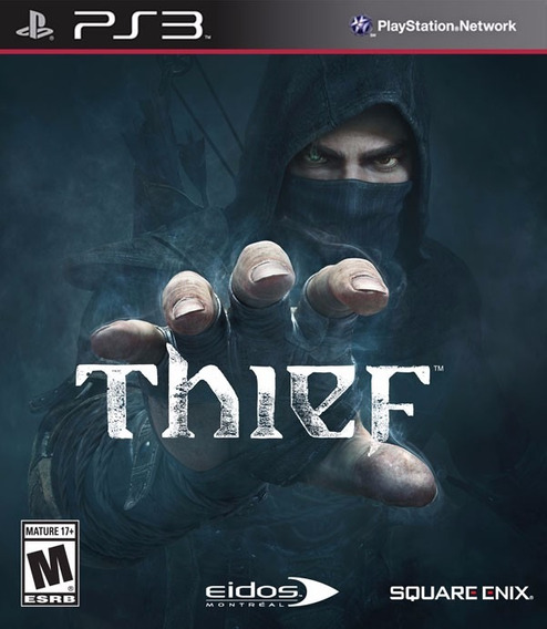 Jogo Thief Playstation 3 Ps3 Mídia Física Original Square