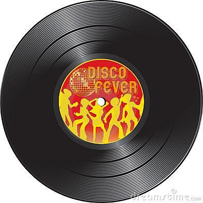 Disco De Vinilo Antiguo Para Decoración En La Plata.