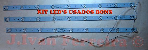 Barras De Led Tv Cce Ln32g Hr315d09-zc14f Kit Com 3 Barras