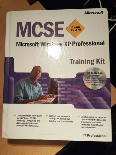 Mcse Microsoft Windows Xp Prof Training Kit Tapa Dura