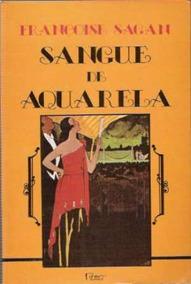Livro Sangue De Aquarela - Romance + Brinde