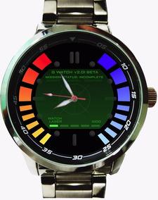Relógio Personalizado Exclusivo James Bond 007 Golden Eye