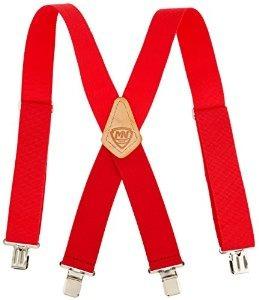 Mcguire-nicholas 110c 2 Pulgadas Tirantes Ancha Roja