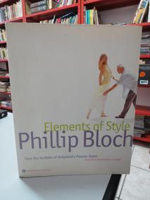 Livro Elements Of Style Phillip Bloch Moda Estilista