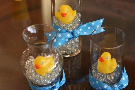 Paquete Para Recuerdos 20 Patitos De Hule Con Hidrogel Baby