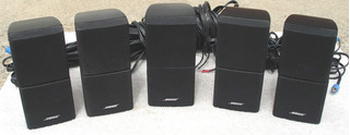 Bose Acoustimass - Cubos Dobles