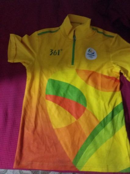 Blusa Voluntário Rio 2016