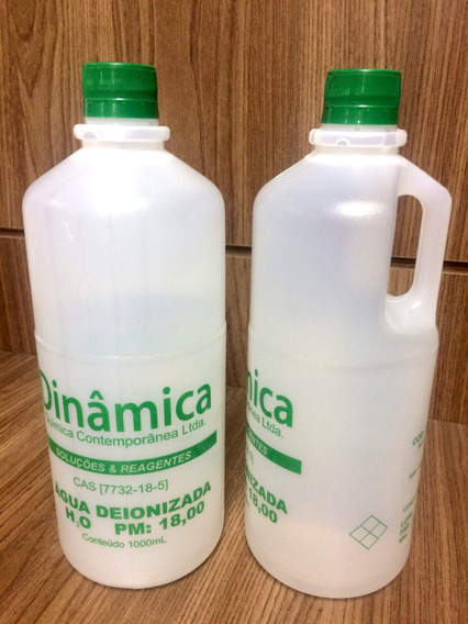 Agua Deionizada - 06 Litros
