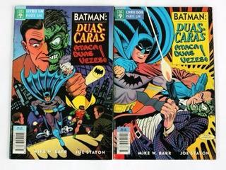 Hq Batman Duas Caras Ataca Duas Vezes 01 E 02