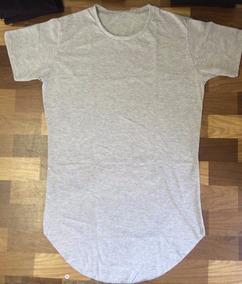 4 Camisetas Oversized Camisa Swag Longline Masculina