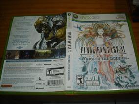 Final Fantasy Xi 11 Xbox 360 Midia Fisica Original