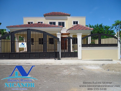 Bienes Raices Nicanor Vende Casas En Puerto Plata
