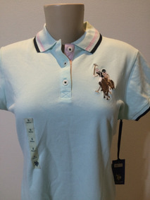 6fe1c78c0b Camisa Polo Feminina U.s.polo Assn - Pólos Manga Curta Verde claro ...