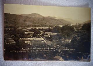 Cartão Postal Além Paraíba Mg Porto Novo 1935