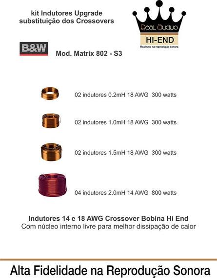 Kit-indutor-upgrade-crossover-matrix-802-s3-b&w-real-audyo