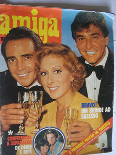 Revista Amiga 294 Jan 1976 Novela Bravo E A Viagem Eva Vilma