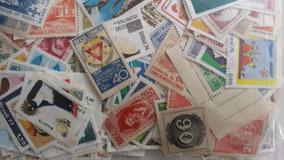 Lote Com 50 Selos Comemorativos Sem Carimbo - Brasil