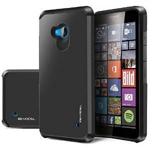 Evocelâ® Lumia 640 [serie Dual Layer] Protector Armor Híbrid