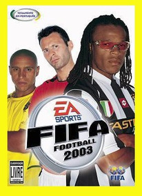 Game Pc Fifa Football 2003- 2 Cd-rom Em Portugues