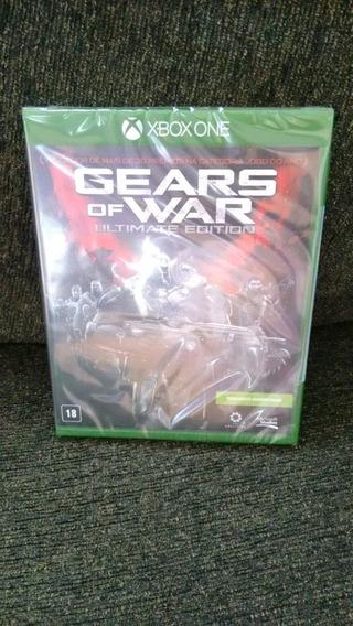 Gears Of War Ultimate Edition Lacrado E Original Xbox One
