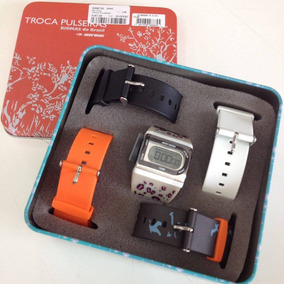 Relógio Pulso Plastico C/5 Puls Plast Digital Ref:66730