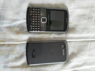 Motorola Ex115 Dual Chip (para Retira De Peças)