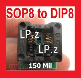 Adaptador Smd Soic8 Sop8 Para Dip8 - 150mil