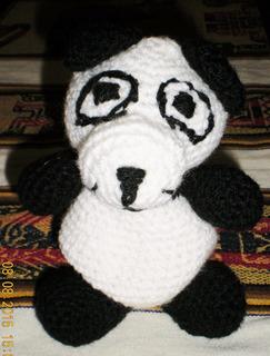 Cómo tejer un oso panda amigurumi / Aprendemos juntas   Crochet y ...   320x243