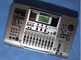 Boss Br-1200 Digital Recording Studio - Willaudio