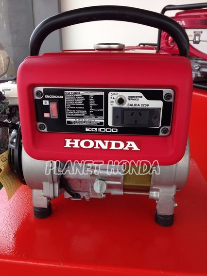 Motor Generador Honda Eg 1000 12 Cuotas Sin Interés Tarjeta