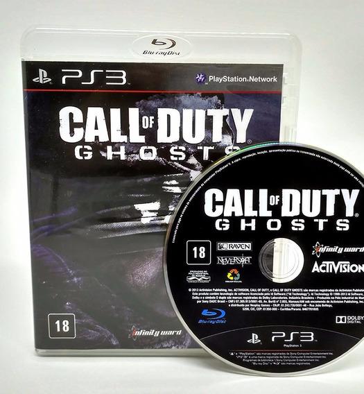 Call Of Duty Ghosts Ps3 - Mídia Física | Garantia Playgorila