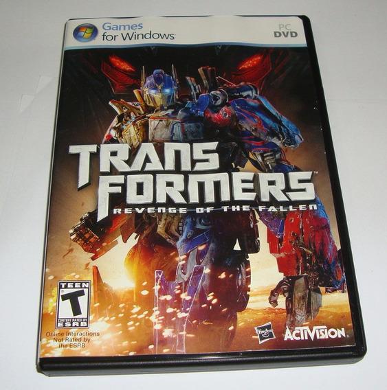 Transformers Revenge Of The Fallen Original Completo Pc Cr