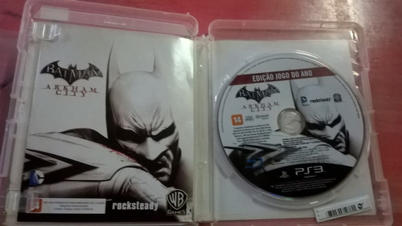 Batman Arkham City Português Mídia Física Ps3