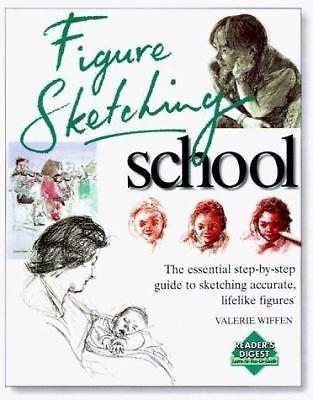 Figure Sketching School - Livro - Valerie Wiffen