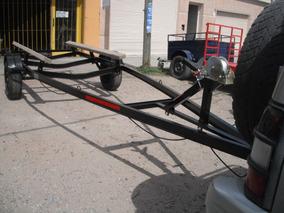 Trailer Nautico Para Trucker, Semirrigido 5.50 X 1.40