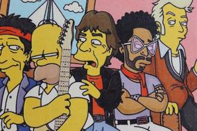 Quadro Simpsons Impressão Em Tela De Pintura40x30