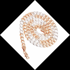 Colar Corrente Goumett Banho Ouro 18k, 59cm,5mm Semi Joia