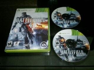 Battlefield 4 Completo Para Xbox 360,excelente Titulo