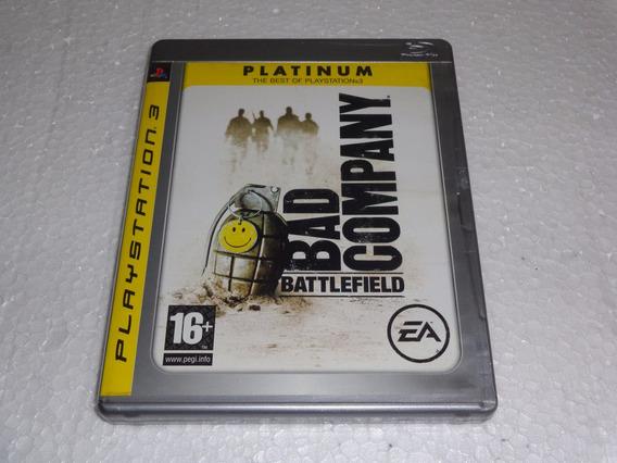 Somente A Caixa Do Jogo Battlefield Bad Company Para Ps3