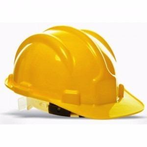 Capacete Amarelo Plastcor Ca 31.469