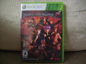 Game Dead Or Alive 5 Do Xbox360 - Primeira Versão Lançada