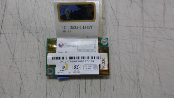 Placa Modem Interno Toshiba Satellite P25